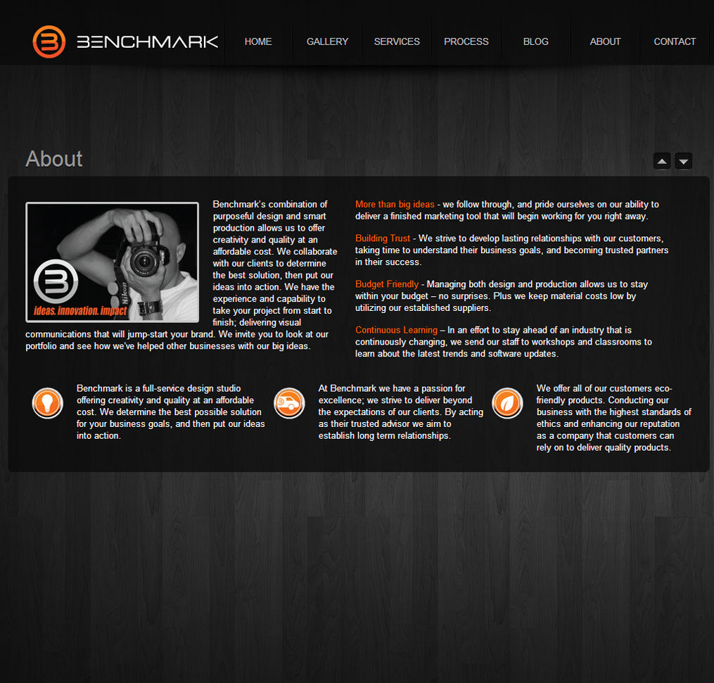 Benchmark Design Studio